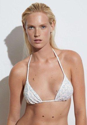 DITSY FLORAL - Bikini top - light blue