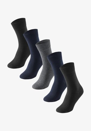 5-PACK  - Socks - royal blue