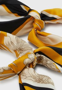 Anna Field - 2 PACK - Foulard - mustard yellow/black/grey - 1