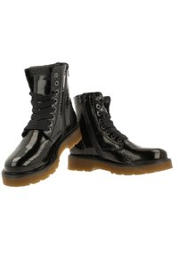 Gaastra - DEMI HIGH PAT - Lace-up ankle boots - black - 3
