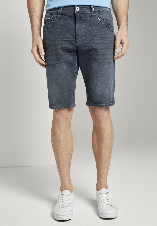 JOSH - Shorts di jeans - blue grey denim