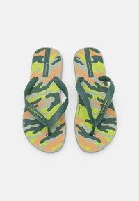 Ipanema - CLASSIC IX KIDS - Pool shoes - green/beige - 3