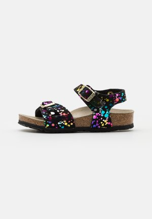 RIO KIDS CONFETTI POP - Sandals - black