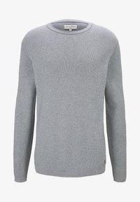TOM TAILOR DENIM - Jumper - woolwhite grindle stripe - 4