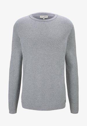 Strickpullover - woolwhite grindle stripe
