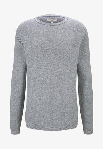 Maglione - woolwhite grindle stripe