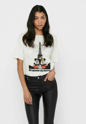 MICKEY MOUSE - Print T-shirt - cloud dancer