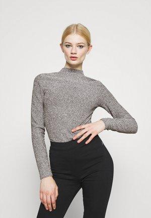 VMEMMY CHOKER  - Pitkähihainen paita - black/silver glitter
