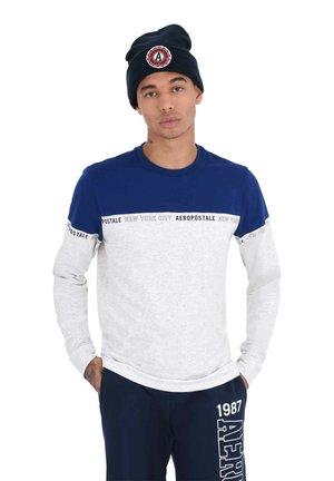 ACTIVE LS TEE - Long sleeved top - blue