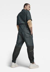 G-Star - GSRR CROPPED LINED SHIRT - Overhemd - wakoucha denim raw denim - 1