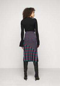 Diane von Furstenberg - SKIRT - Pencil skirt - grape/purple/green - 2