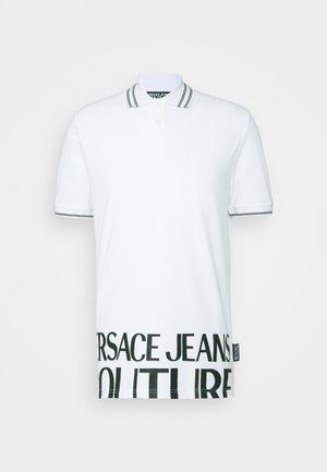 MAN - Koszulka polo - bianco