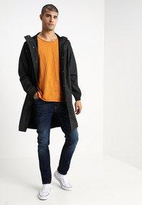Nudie Jeans - LEAN DEAN - Jeans slim fit - dark deep worn - 1