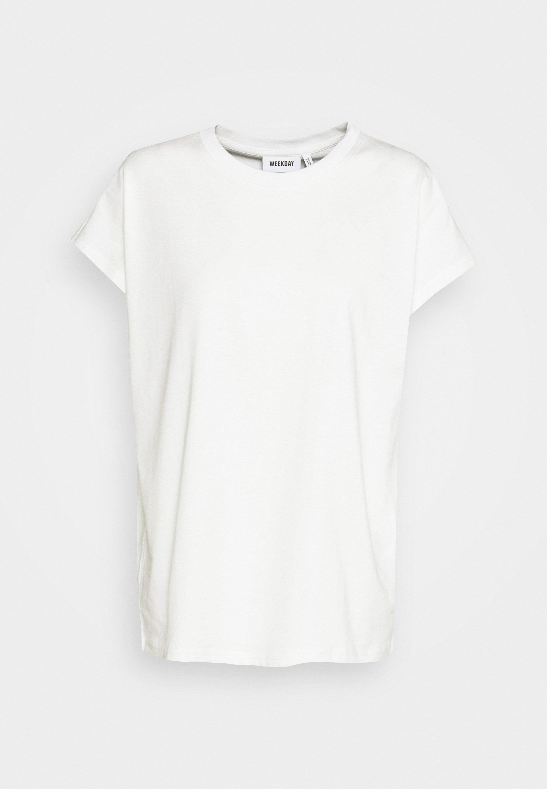 Weekday Bree - T-shirts White/hvit