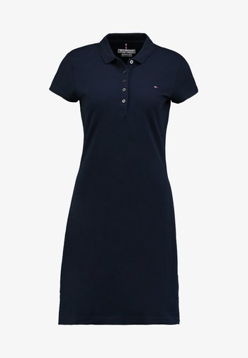 HERITAGE SLIM DRESS - Day dress - midnight