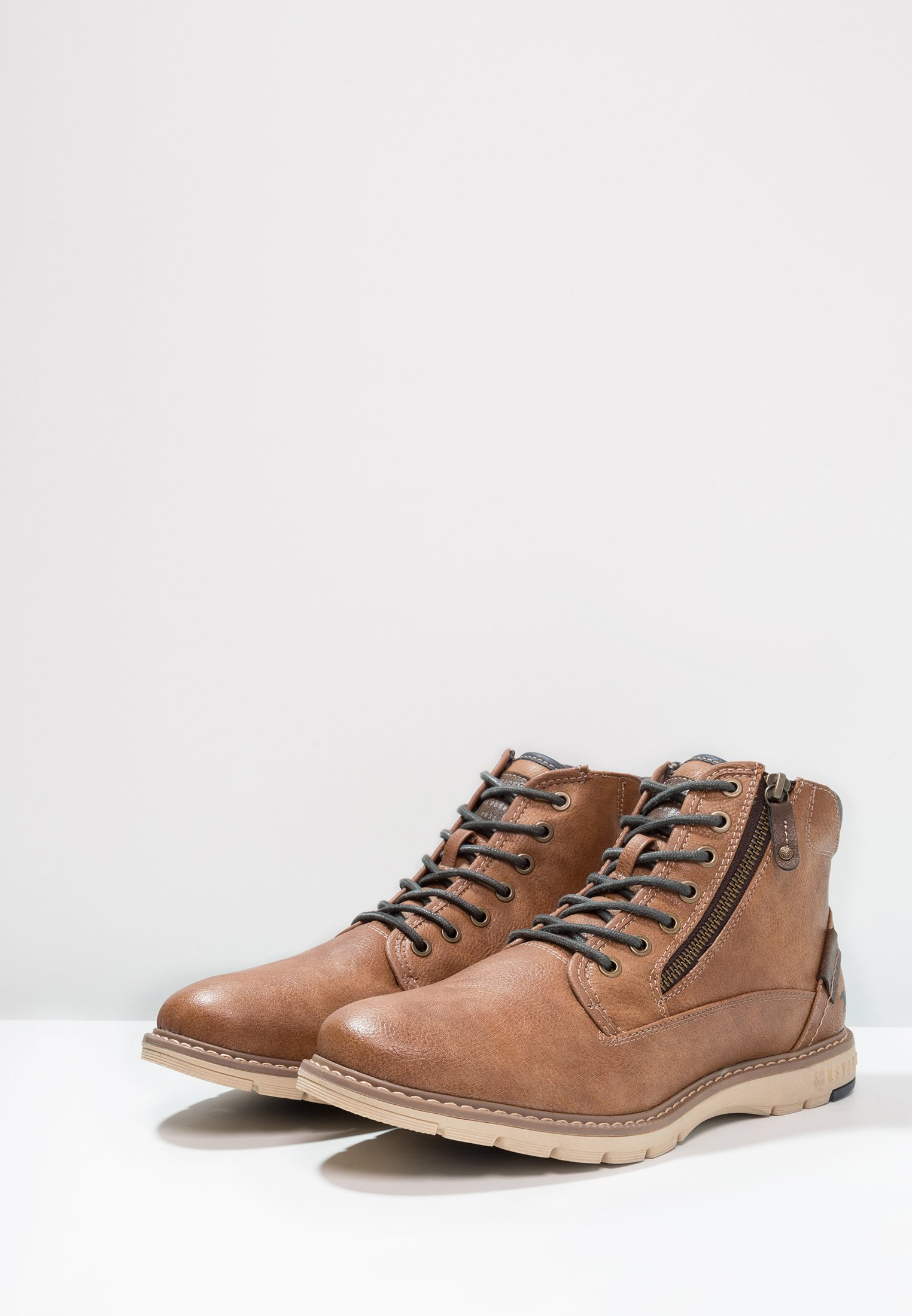 Up To Date Cheapest Mustang Lace-up ankle boots - kastanie | men's shoes 2020 TtGlL
