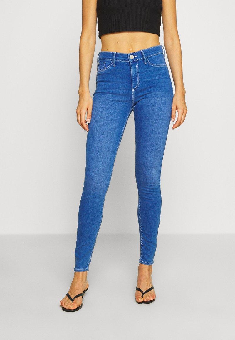 River Island - SKINNY JEANS - Jeans Skinny Fit - blue
