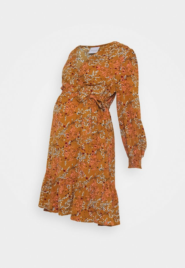 MLJADINE DRESS - Jerseykjoler - meerkat
