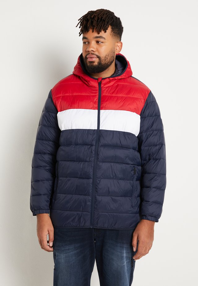JJEMAGIC PUFFER HOOD - Light jacket - tango red