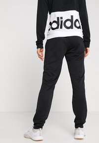 adidas Performance - LIN HOOD SET - Zip-up hoodie - black/white - 4