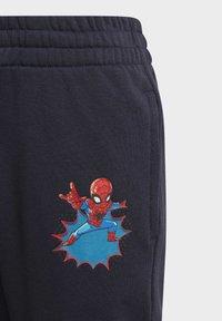 adidas Performance - SHA DISNEY SPIDER-MAN REGULAR PANTS - Tracksuit bottoms - blue - 2