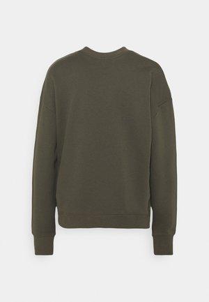 LOGO SWEATER - Sweatshirt - olive