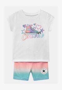 Converse - PRINTED BIKER SET - Shorts - white - 0