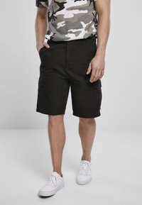 Brandit - BDU RIPSTOP - Shorts - black - 0