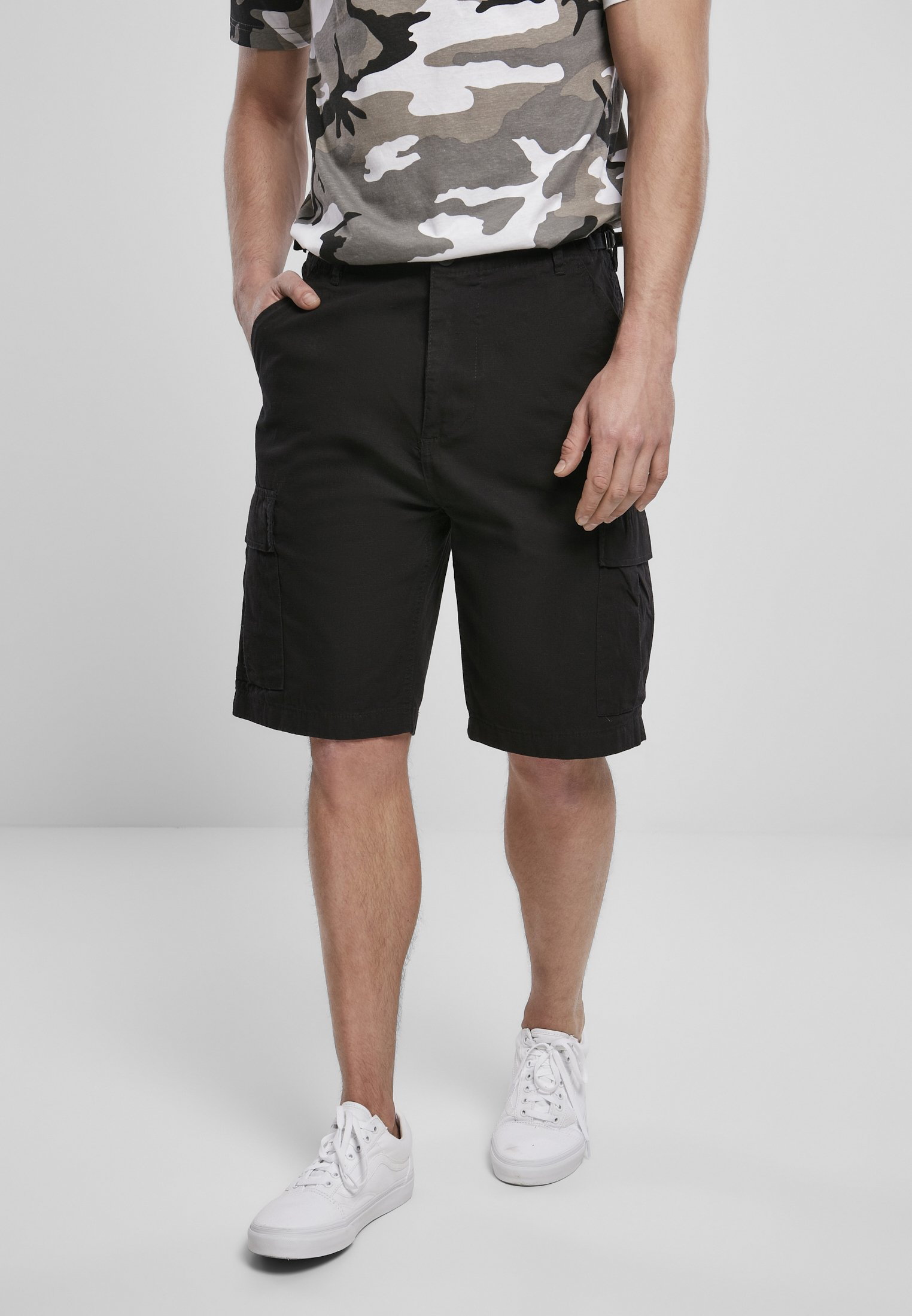 Brandit BDU Ripstop Shorts in Black