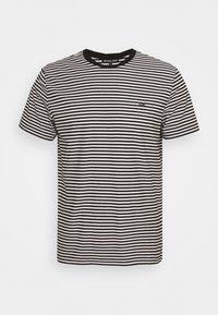 Michael Kors - FEEDER STRIPE TEE - Print T-shirt - black - 0
