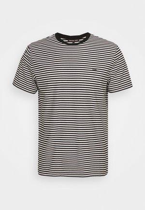 FEEDER STRIPE TEE - Print T-shirt - black