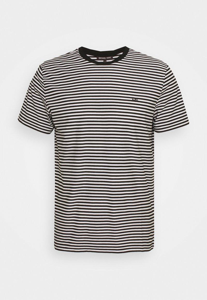 Michael Kors - FEEDER STRIPE TEE - Print T-shirt - black