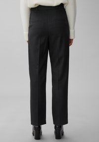 Marc O'Polo PURE - Trousers - pure black - 2