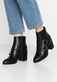 Even&Odd Wide Fit - Nilkkurit - black - 0
