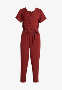 Even&Odd - Tuta jumpsuit - dark red - 4
