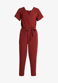 Tuta jumpsuit - dark red