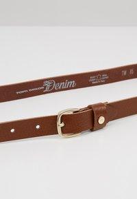 TOM TAILOR DENIM - TF0085L03 - Belte - cognac - 4