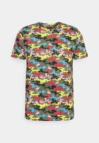 Brave Soul - CAMINGO - T-shirt med print - khaki/multi colour - 3