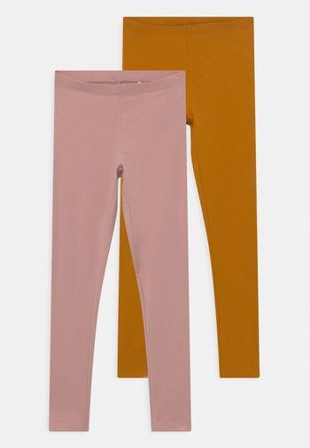 NKFVIVIAN 2 PACK - Leggings - Trousers - pale mauve