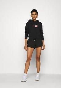 Calvin Klein Jeans - SMALL FLAG BOXY HOODIE - Hoodie - black - 1