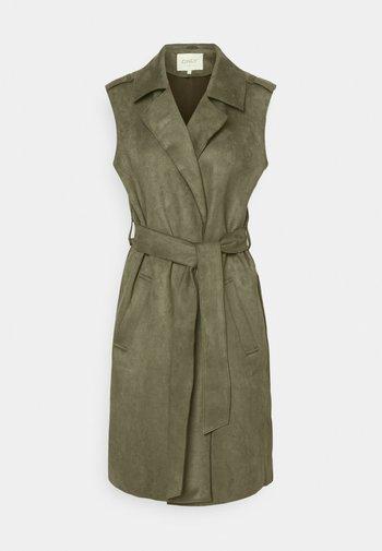 ONLCARNI BELTED BONDED WAISTCOAT - Waistcoat - kalamata