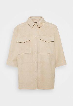 OBJANYA - Button-down blouse - humus