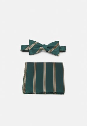 SLHSULLY TIE BOWTIE BOX SET - Bow tie - dark green