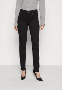 7 for all mankind - THE LUXURIOUS - Jean droit - schwarz - 0