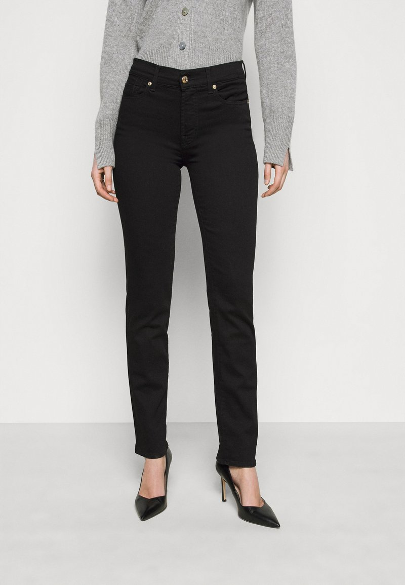 7 for all mankind - THE LUXURIOUS - Jean droit - schwarz