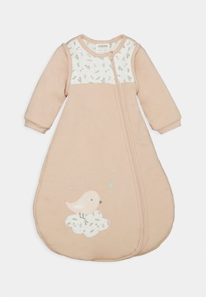 Baby's sleeping bag - altrosa/off-white