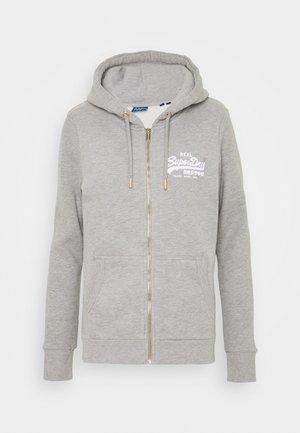 VL NYC PHOTO - Zip-up hoodie - grey marl