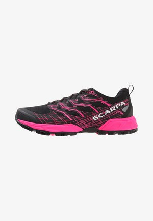 NEUTRON 2  - Trail running shoes - black/pink glow