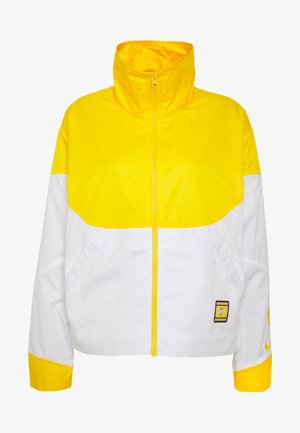 NBA LOS ANGELES LAKERS CITY EDITION WOMENS SNAP JACKET - Equipación de clubes - amarillo/white