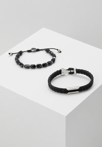 Diesel - STACKABLES SET - Bracelet - black - 0